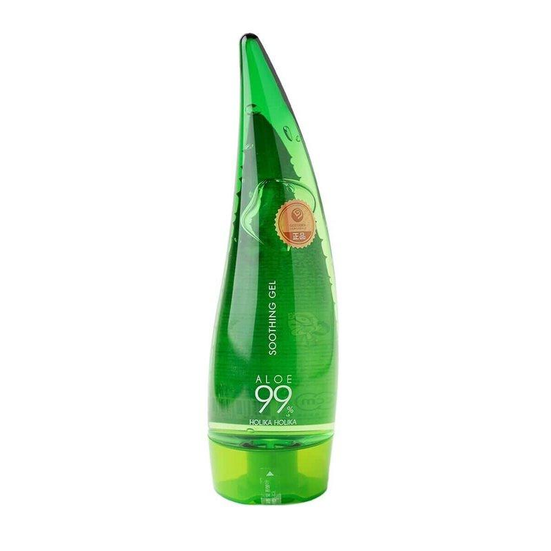Многофункциональный гель с 99% алоэ вера Holika Holika Aloe 99% Soothing Gel, 250мл