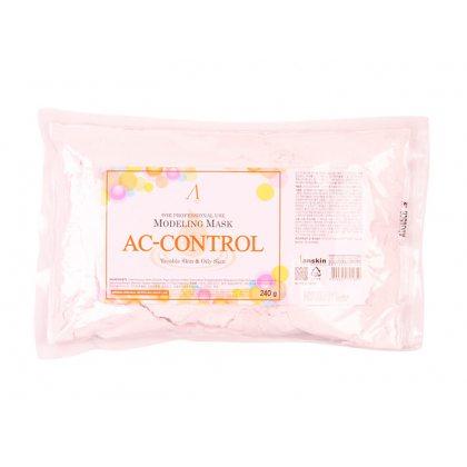Маска альгинатная для проблемной кожи против акне и жирности Anskin Ac Control Modeling Mask, 240г