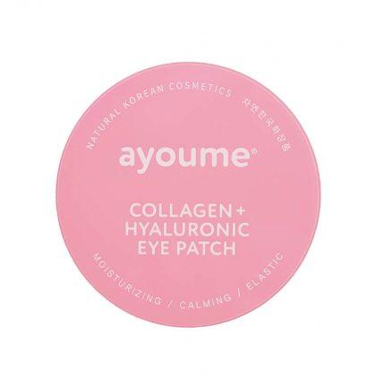 Патчи для глаз с коллагеном и гиалуроновой кислотой Ayoume Collagen and Hyaluronic Eye Patch, 60шт