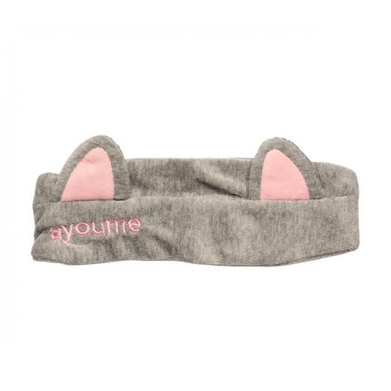 """Повязка для волос AYOUME Hair Band """"Cat Ears"""" серая"""