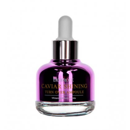Сыворотка для лица с экстрактом икры Deoproce Caviar Shining Turn Over Ampoule, 30мл