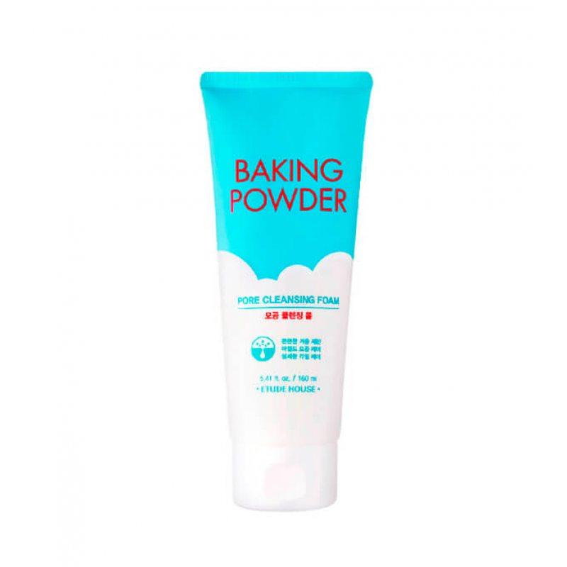 Пенка для умывания и для глубокого очищения пор ETUDE HOUSE Baking Powder Pore Cleansing Foam, 160мл