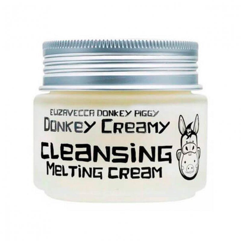 Крем-масло очищающее для снятия макияжа Elizavecca Donkey Creamy Cleansing Melting Cream, 100г
