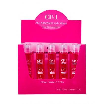 Набор маска-филлер для волос ESTHETIC HOUSE CP-1 3 Sec Hair Ringer Hair Fill-up Ampoule, 20шт*13мл