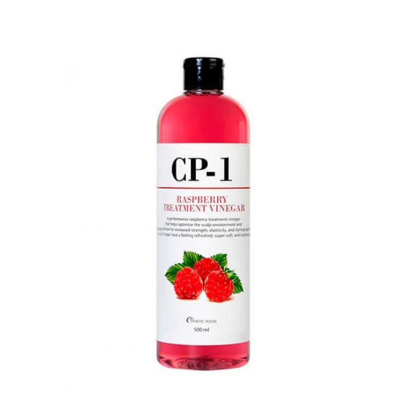 Кондиционер-ополаскиватель увлажняющий на основе малинового уксуса ESTHETIC HOUSE CP-1 Raspberry Treatment Vinegar, 500мл
