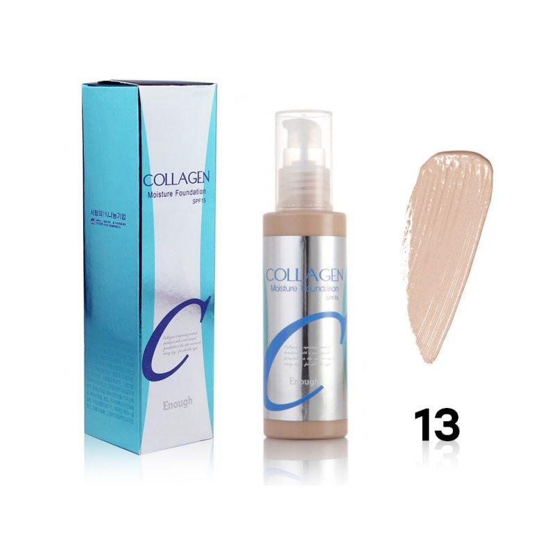 Тональная основа Enough Collagen Moisture Foundation #13, 100мл