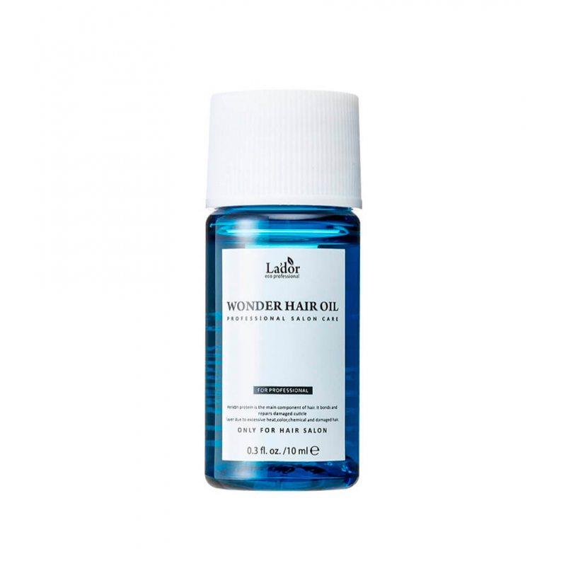 Увлажняющее масло для восстановления блеска волос La'dor Wonder Hair Oil, 10мл