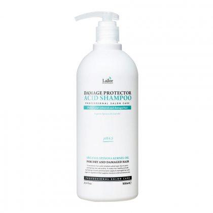 Шампунь бесщелочной с аргановым маслом Lador Damage Protector Acid Shampoo, 900мл