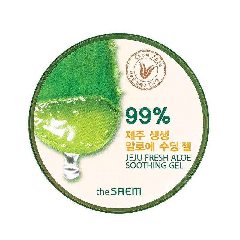 Гель универсальный с 99% алоэ The Saem Jeju Fresh Aloe Soothing Gel 99%, 300мл