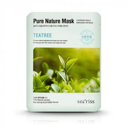 Маска тканевая с экстрактом чайного дерева Anskin Secriss Pure Nature Teatree, 25мл