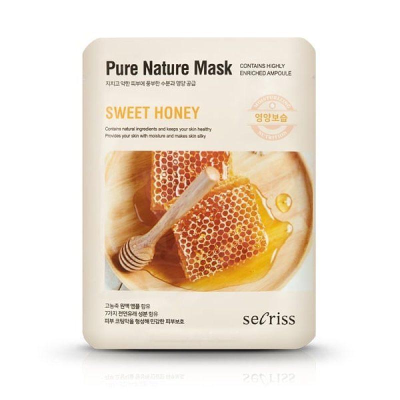 Маска тканевая с экстрактом меда Anskin Secriss Pure Nature Sweet honey, 25мл