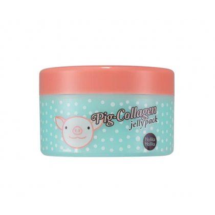 Ночная маска для лица коллагеновая Holika Holika Pig-Collagen jelly pack, 80г