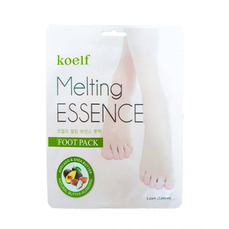 Маска-носочки для ног смягчающая Koelf Melting Essence Foot Pack, 20г