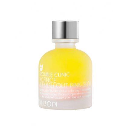 Эффективное ночное средство для лечения акне и воспалений MIZON Acence Blemish Out Pink Spot, 30мл
