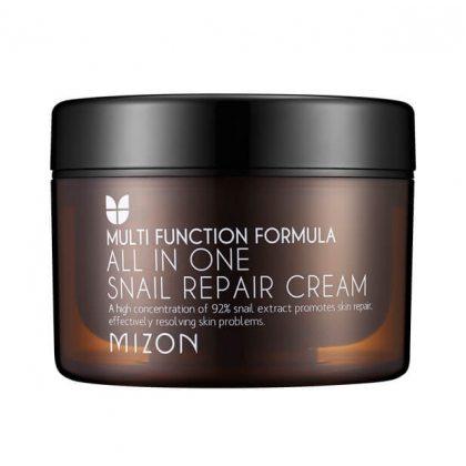 Крем для лица с 92% муцином улитки MIZON All In One Snail Repair Cream, 120мл