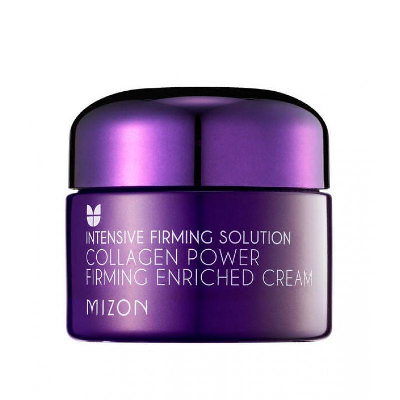 Крем для лица питательный с морским коллагеном MIZON Collagen Power Firming Enriched Cream, 50мл