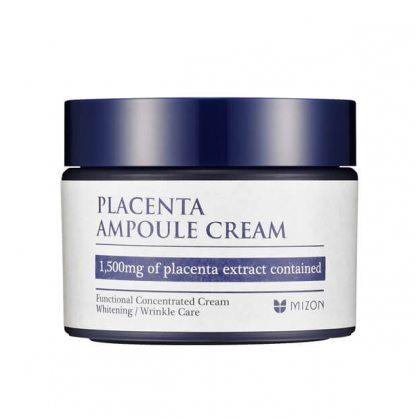 Крем для лица антивозрастной плацентарный с лифтинг-эффектом MIZON Placenta Ampoule Cream, 50мл