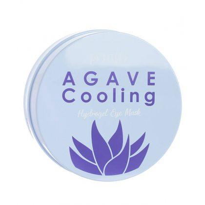 Гидрогелевые патчи для кожи вокруг глаз с экстрактом агавы Petitfee Agave Cooling Hydrogel Eye Mask, 60шт