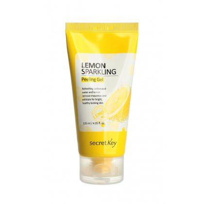Пилинг-гель с экстрактом лимона Secret Key Lemon Sparkling Peeling Gel, 120мл