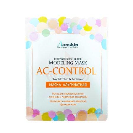 Маска альгинатная для проблемной кожи против акне и жирности Anskin Ac Control Modeling Mask, 25г