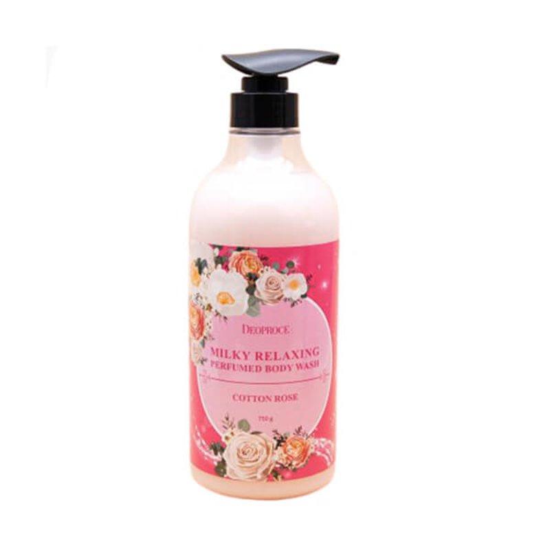Гель для душа Deoproce Milky Relaxing Body Wash, 750г