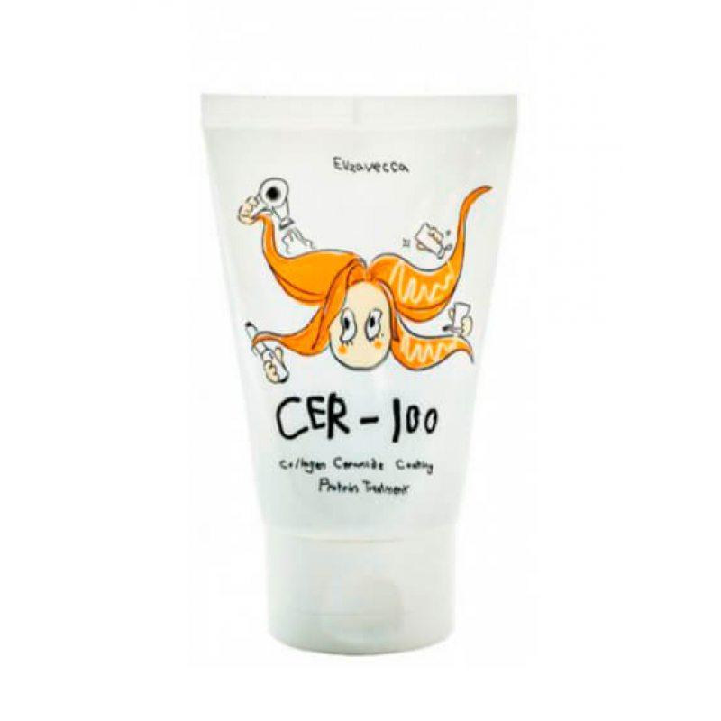Маска для волос восстанавливающая с коллагеном Elizavecca Cer-100 Collagen Ceramid Coating Treatment, 100мл
