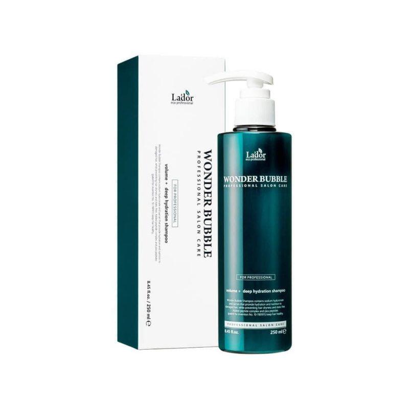 Шампунь для объема и гладкости волос La'dor Wonder Bubble Shampoo, 250мл