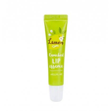 Эссенция для губ лимонная Welcos Around Me Enriched Lip Essence Lemon, 8.7г
