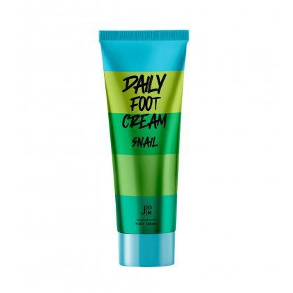 Крем для ног с муцином улитки J:ON Daily Foot Cream Snail, 100мл