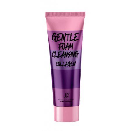 Пенка для умывания с коллагеном J:ON Gentle Foam Cleansing Collagen, 100мл