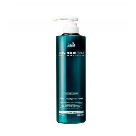 Шампунь для объема и гладкости волос La'dor Wonder Bubble Shampoo, 600мл