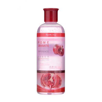 Тонер увлажняющий с экстрактом граната FarmStay Visible Difference Moisture Toner Pomegranate, 350мл