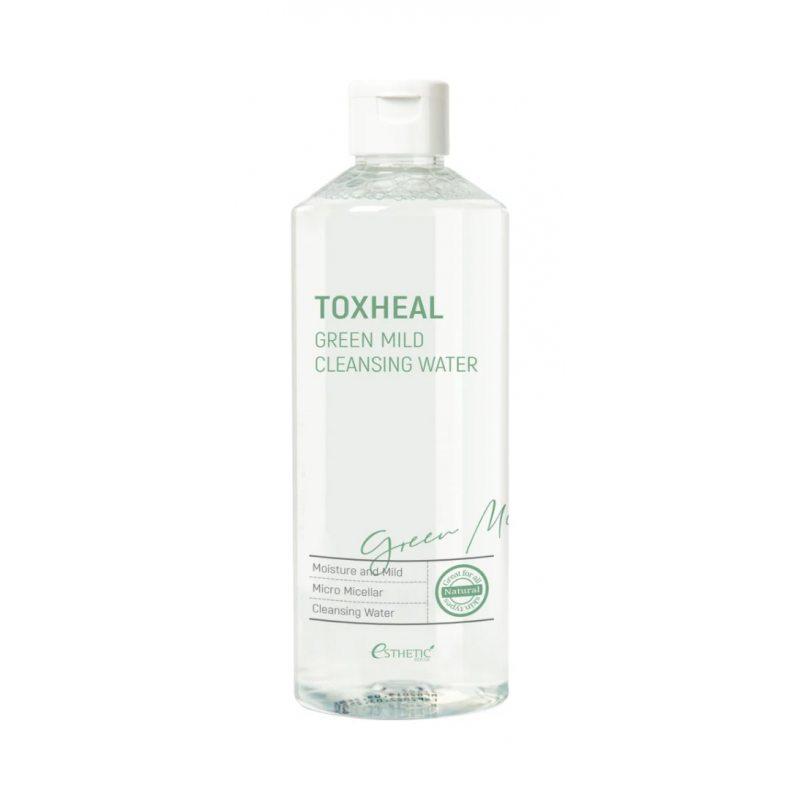 Жидкость для снятия макияжа ESTHETIC HOUSE Green Mild Cleansing Water, 530мл
