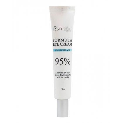 Крем для век с гиалуроновой кислотой ESTHETIC HOUSE Formula Eye Cream Hyaluronic Acid 95%, 30мл