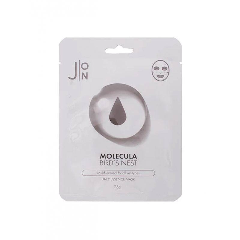 Маска тканевая для лица с экстрактом ласточкиного гнезда J:ON Molecula Bird's Nest Essence Mask, 23г