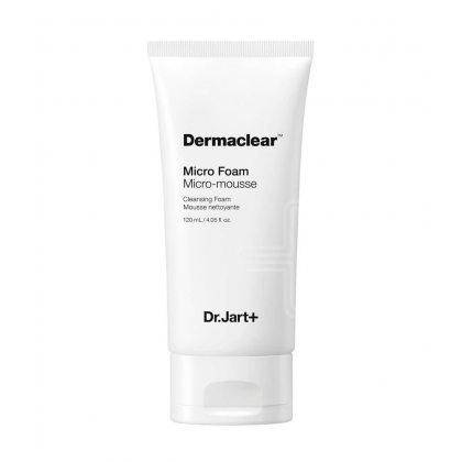 Гель-пенка глубокого очищения для умывания Dr.Jart+ Dermaclear Micro Foam, 120мл