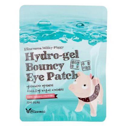 Гидрогелевые патчи Elizavecca Milky Piggy Hydro Gel Bouncy Eye Patch, 20шт
