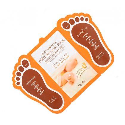 Пилинг-носочки для ног Mijin Soft Miracle Foot Peeling Pack