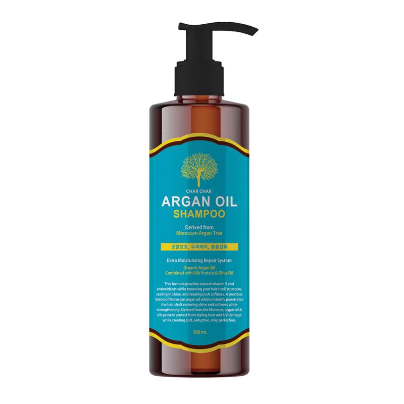 Шампунь для волос Evas Char Char Argan Oil Shampoo, 500мл