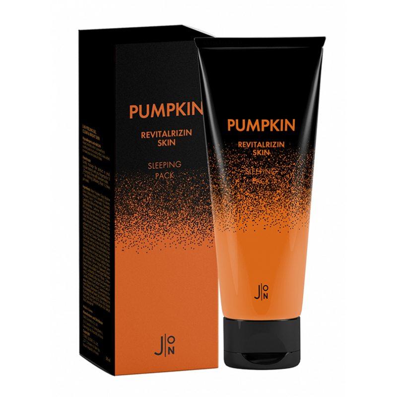 Ночная маска для лица с тыквой J:ON Pumpkin Revitalizing Skin Sleeping Pack, 50 мл