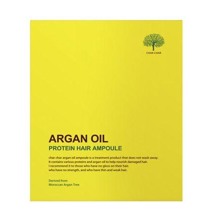 Сыворотка для волос с аргановым маслом Evas Char Char Argan Oil Protein Hair Ampoule, 5шт 15мл