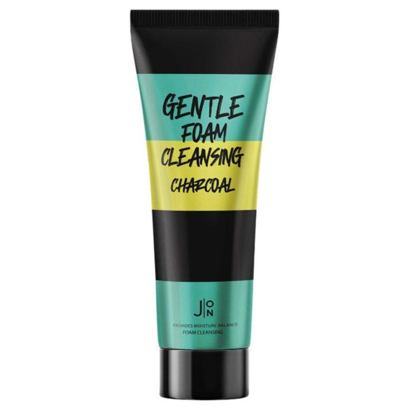 Пенка для умывания с углем J:ON Gentle Foam Cleansing Charcoal, 100мл