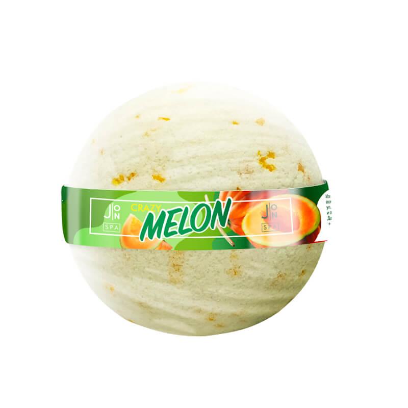 Бомбочка для ванны «дыня» J:ON Crazy Melon, 160г