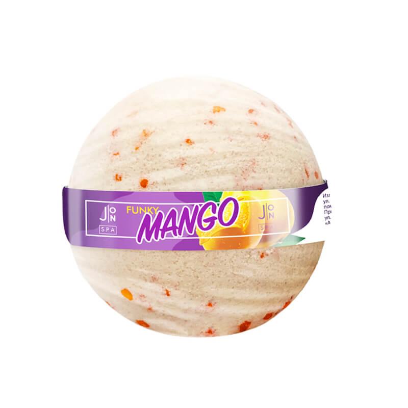Бомбочка для ванны «манго» J:ON Funky Mango, 160г