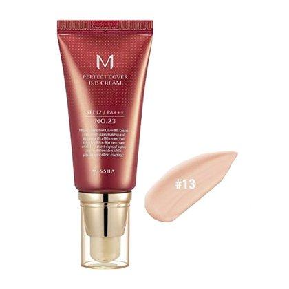 BB-крем с максимальной кроющей способностью #13 Missha M Perfect Cover BB Cream #13 Bright Beige SPF42 PA+++, 50мл