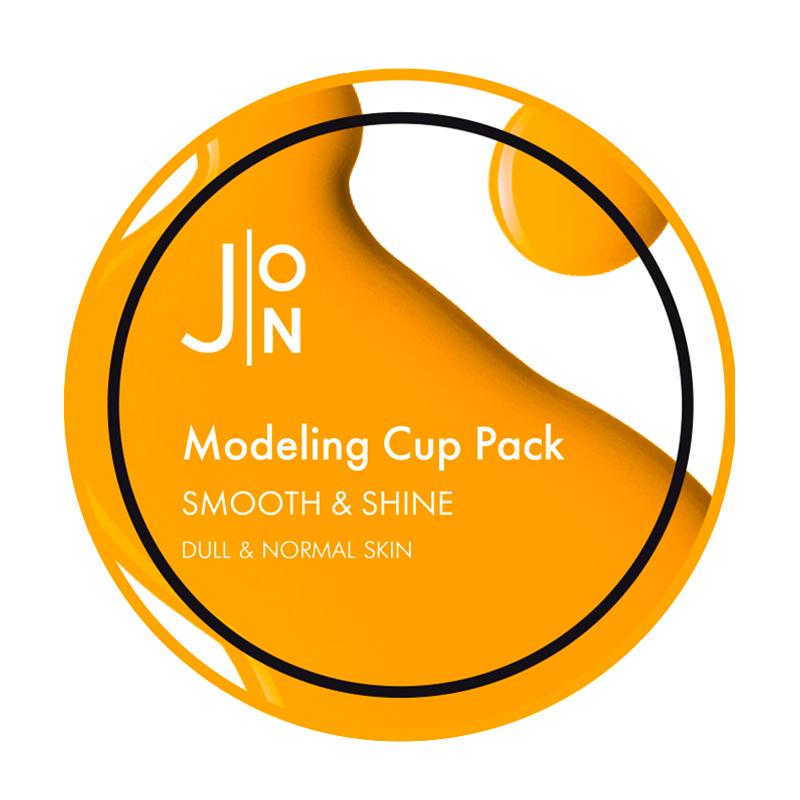 Альгинатная разглаживающая маска для лица J:ON Smooth & Shine Modeling Pack, 18г