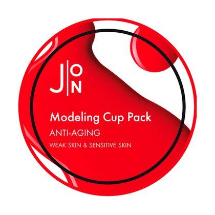Альгинатная антивозрастная маска для лица J:ON Anti-Aging Modeling Pack, 18г