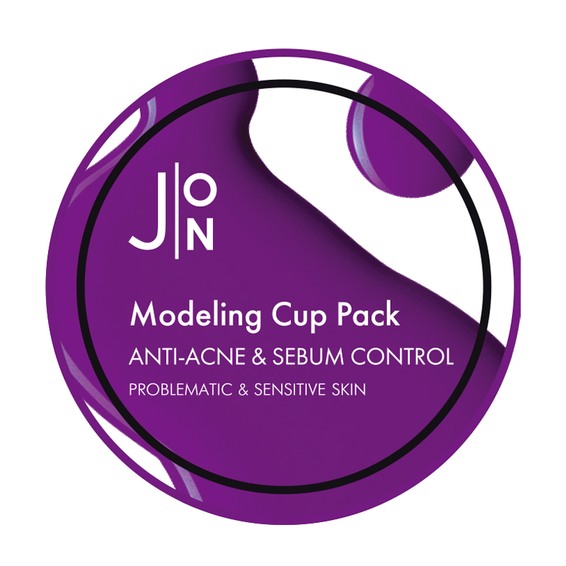 Альгинатная маска для лица для проблемной кожи J:ON Anti-Acne & Sebum Control Modeling Pack, 18г