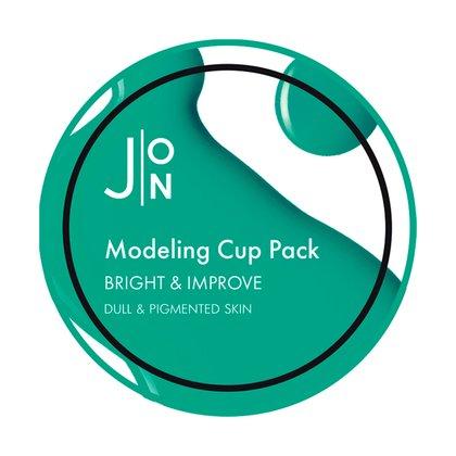 Альгинатная выравнивающая маска для лица J:ON Bright & Improve Modeling Pack, 18г