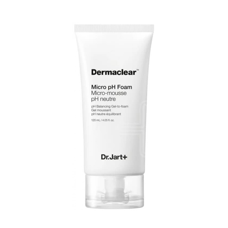 Гель-пенка для умывания Dr.Jart+ Dermaclear Micro pH Foam Micro-Mousse pH Neutre Balancing Gel-to-foam, 120мл